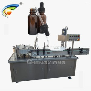 Glass dropper eliquid filling machine