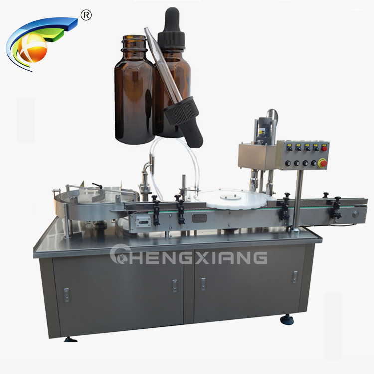 Glass dropper eliquid filling machine Featured Image