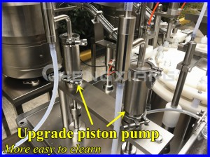 Upgrade chubby gorilla bottle filler,filling capping machine