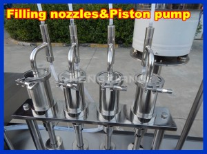 Factory price syrup filling machine,liquid filling and capping machine