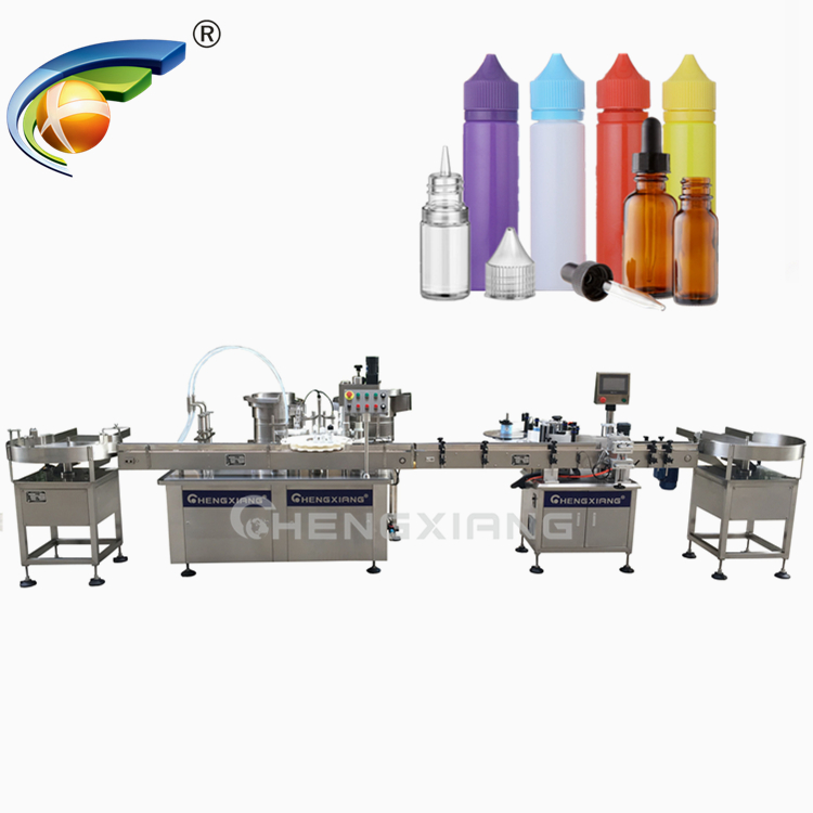 10ml-120ml chubby gorilla bottle filling machine,e-liquid filling machine Featured Image