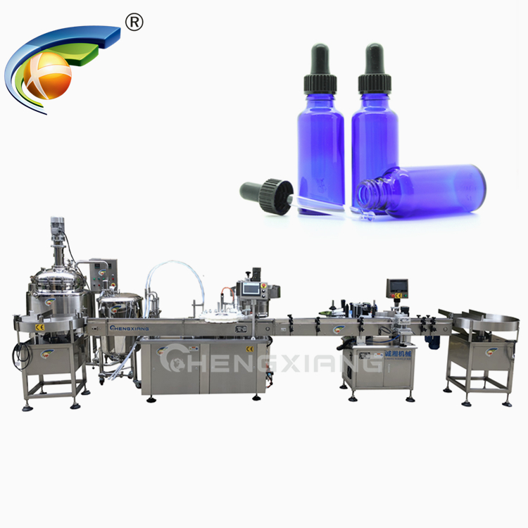 Shanghai Factory glass dropper bottle filling machine,30ml e-liquid filling machine Featured Image