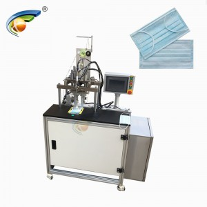 CE Certificate mask earloop strips spot welding machine,non woven masks earloop welding machine