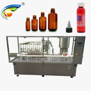 High speed liquid filling capping machine,filling machine for syrup