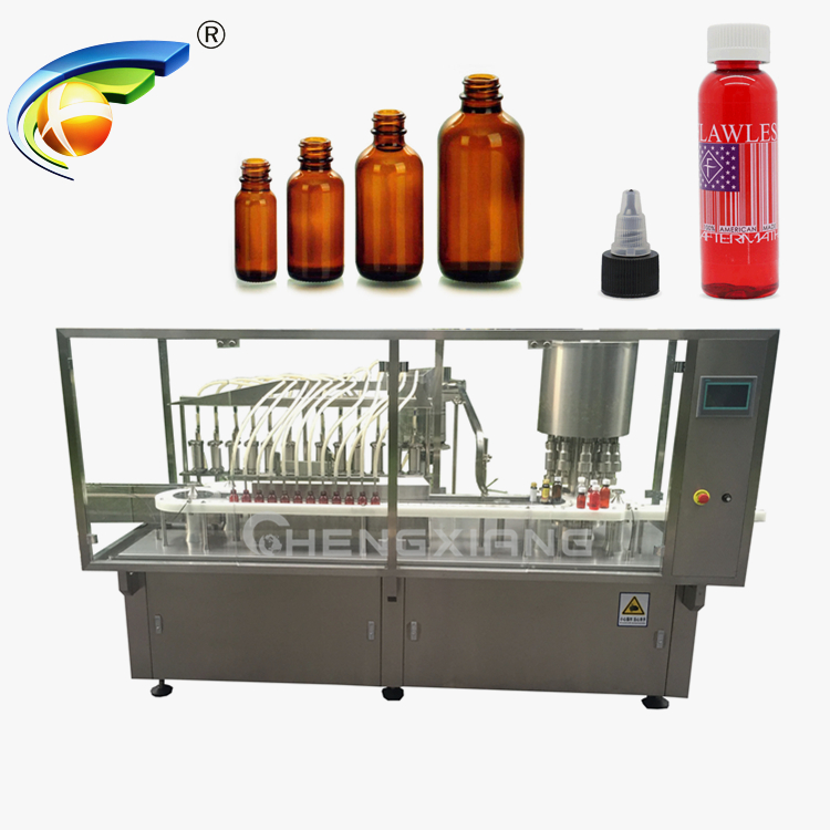 High speed liquid filling capping machine,filling machine for syrup Featured Image