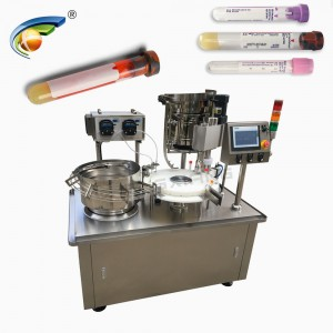 CHENGXIANG test kit filling capping machine,plastic vial filling capping machine