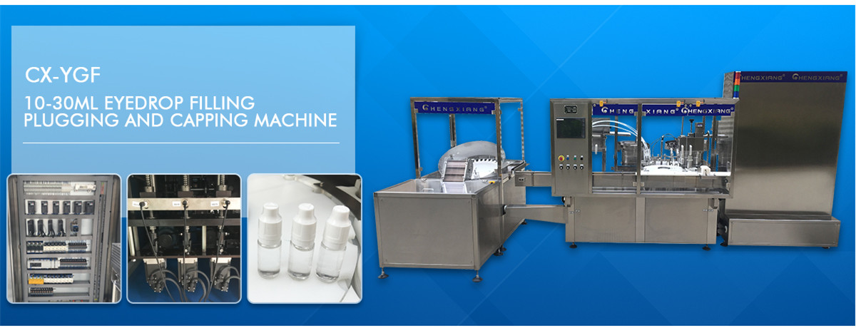 Eyedrop filling machine