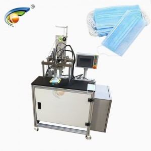 CE Certificate semi automatic mask earloop strips spot welding machine,ear hook welding machine for face mask