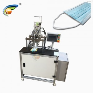 Manual mask earloop ultrasonic welding machine,mask inner earloop welding machine