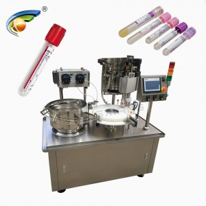 CHENGXIANG rapid test kit filling and capping machine,test kit filling capping machine 10ml