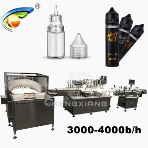 3000-4000b/h chubby gorilla bottle filling machine