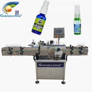 Hot sell spray bottle labeling machine,sticker bottle labeling machine