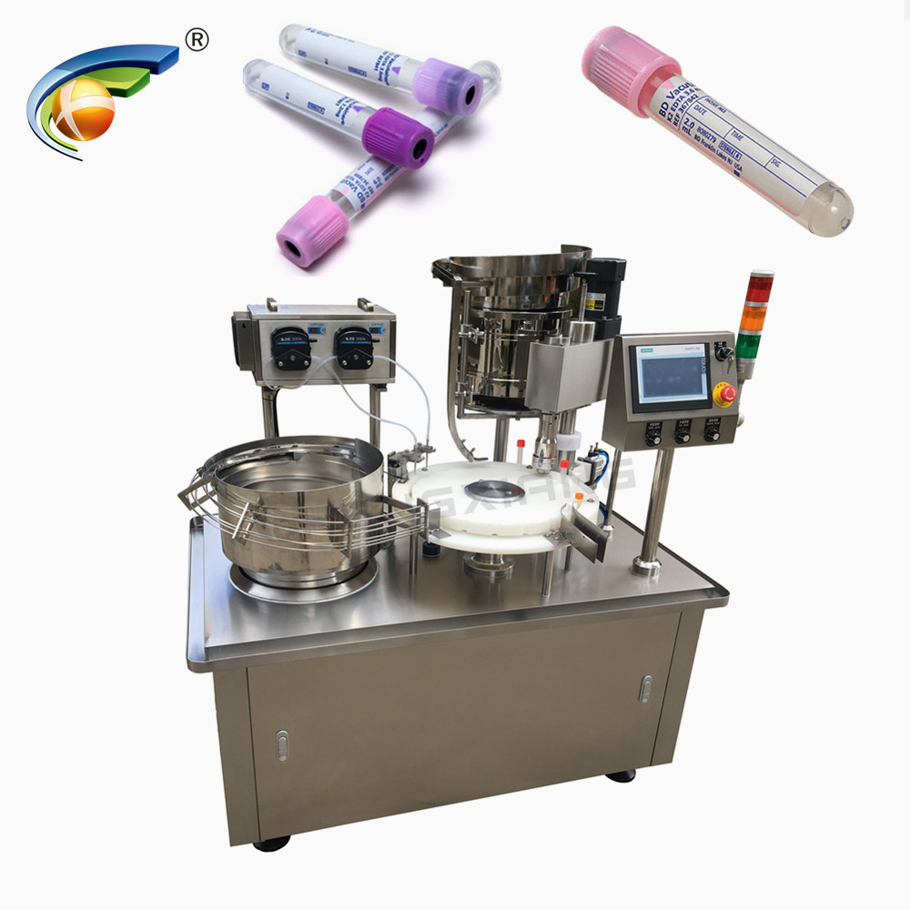 CHENGXIANG 5ml 10ml medical test tube liquid filling capping machine Featured Image