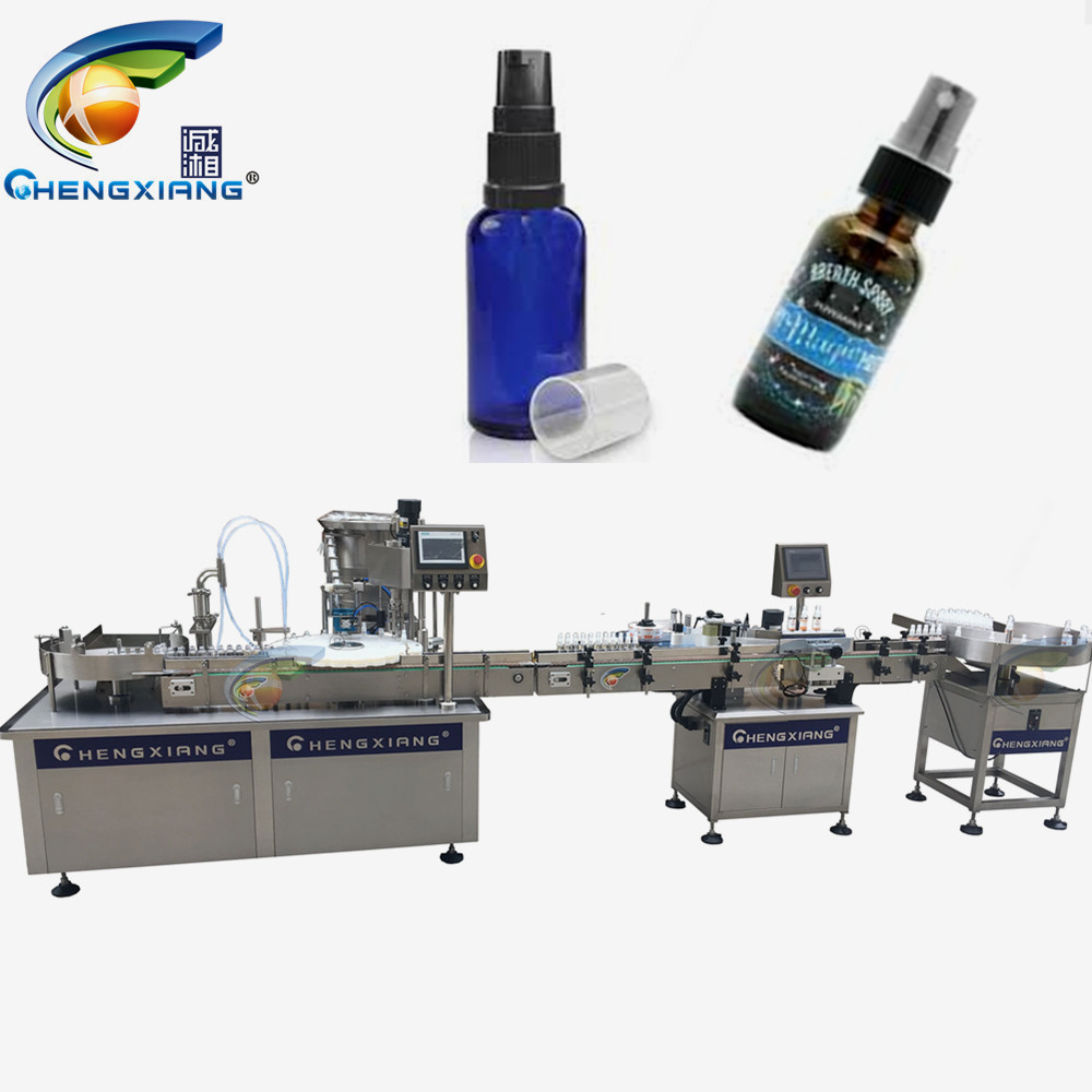 Factory price medical alcohol spray filling capping machine,alcohol piston filler Featured Image