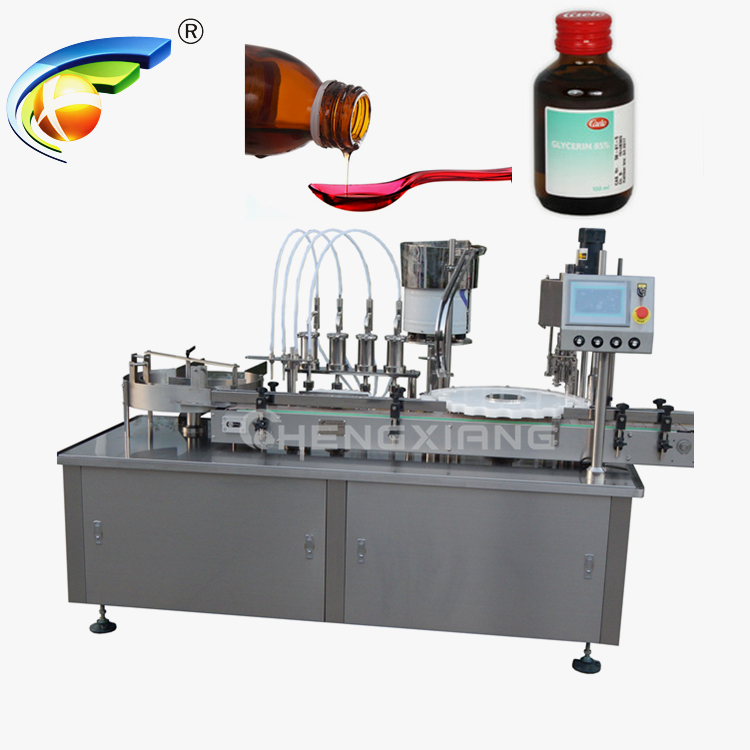 Factory price syrup filling machine,liquid filling and capping machine Featured Image