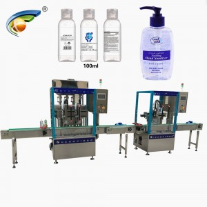 CX-GFT Automatic hand sanitizer filler,automatic spray sanitizer filling machine