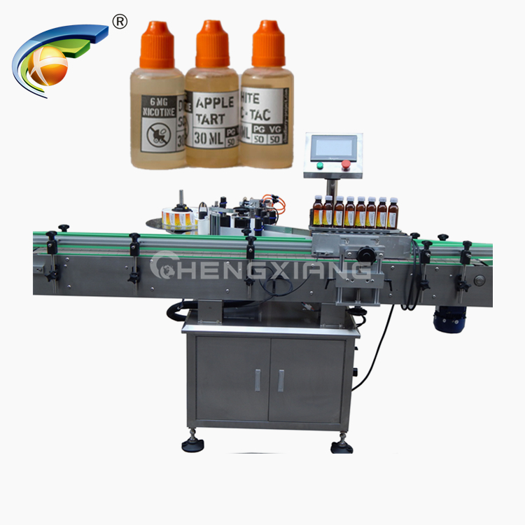 Automatic round bottle labeling machine Featured Image