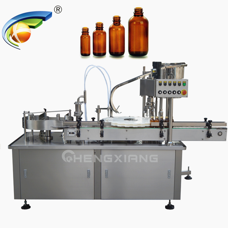 Automatic syrup filling and capping machine Featured Image