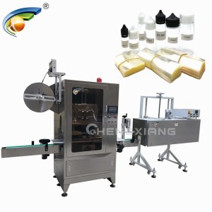 Chubby gorilla bottle shrink sleeve labeling machine
