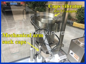 V3 version chubby gorilla bottle filling machine,30ml e-liquid filling machine