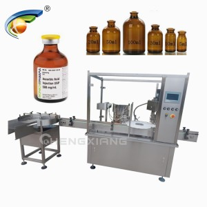 Pharmaceutical vials filling machine