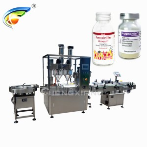 Powder filling & ROPP capping machine