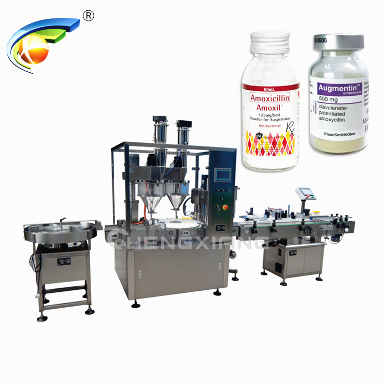 Powder filling & ROPP capping machine Featured Image